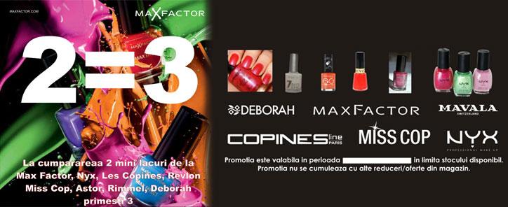 Promotie MaxFactor
