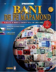 Noua colectie DeAgostini – Bani de pe Mapamond!