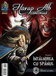 Harap Alb Continua – prima colectie de benzi desenate romanesti te asteapta la Inmedio!