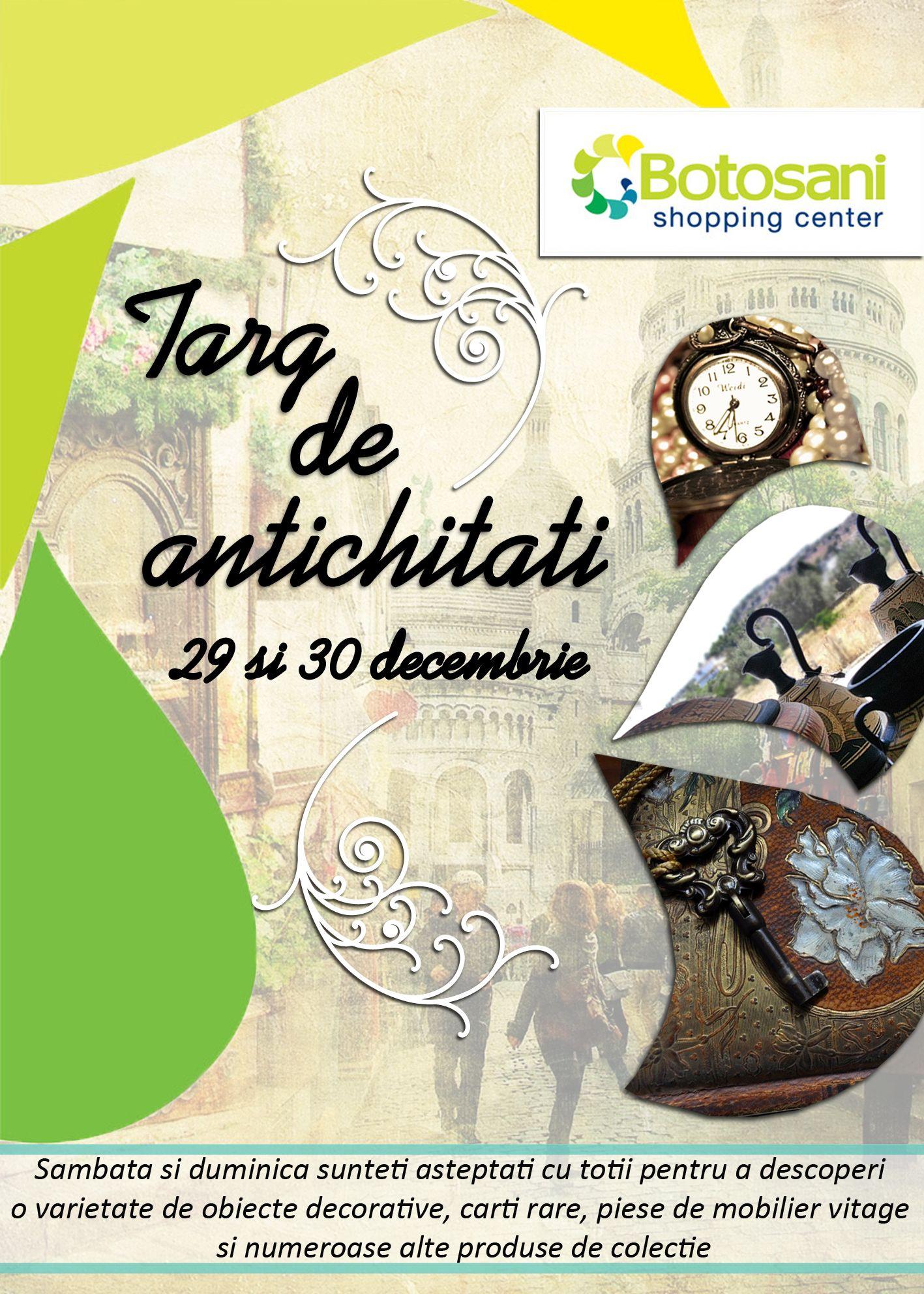 TARG DE ANTICHITATI 29-30 decembrie