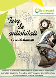 TARG DE ANTICHITATI 19-20 ianuarie