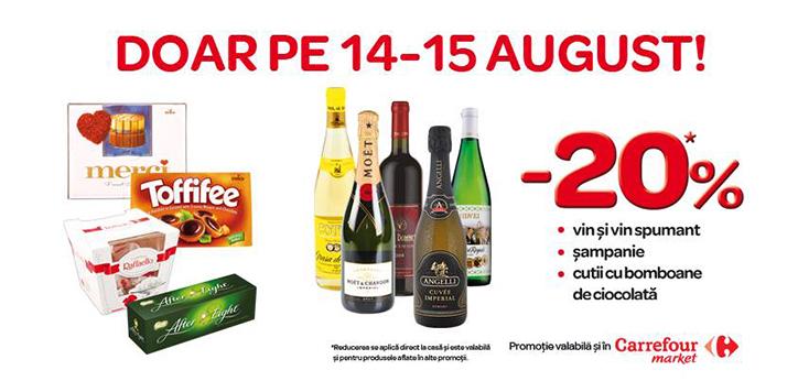 Promotie Carrefour 14-15 august