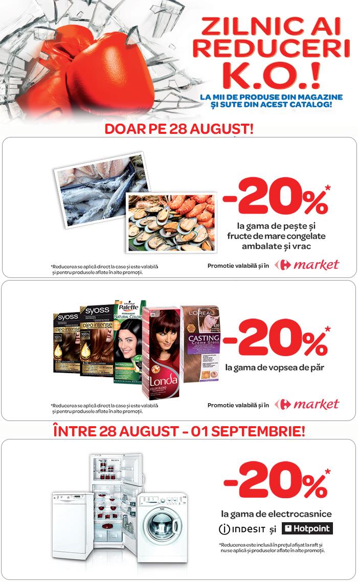 Promotie Carrefour 28 August 2013