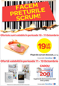 Carrefour – Facem preturile scrum