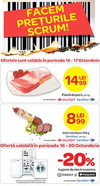 Promotie Carrefour 16-20 octombrie