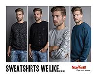 Sweatshirts we like ..