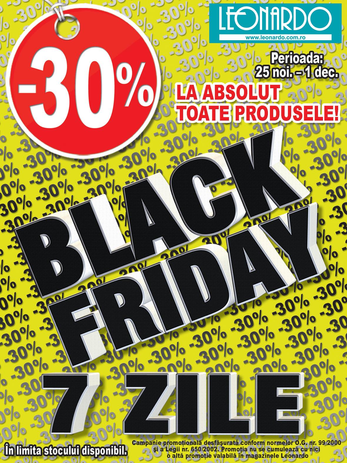 Black Friday la Leonardo