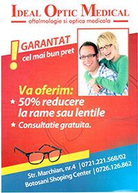 Promoitie Optic Medical Aniversar