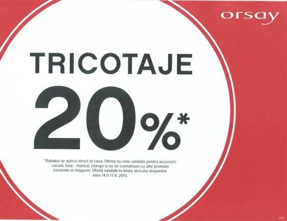 Promotie Orsay Tricotaje