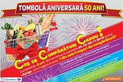 Tombola aniversara Carrefour 50 de ani!