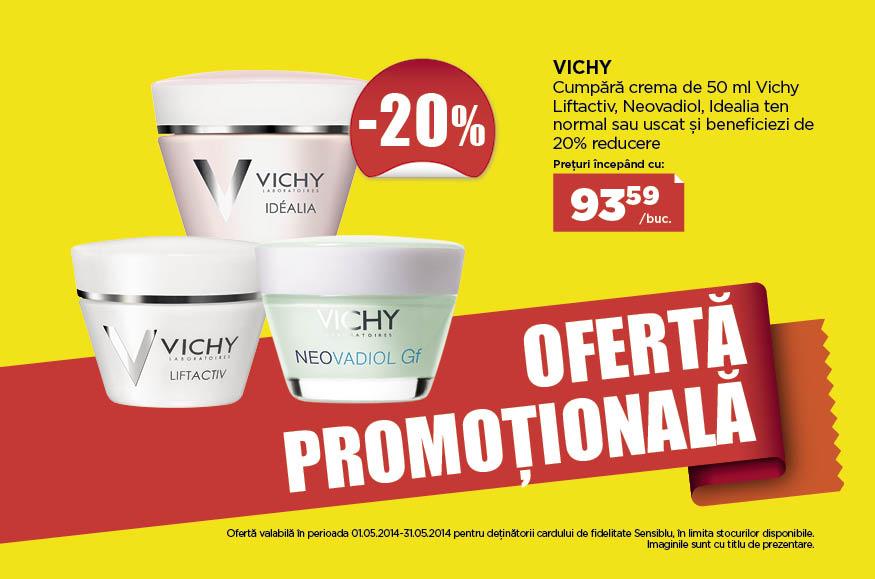 Promotie Sensiblu Vichy