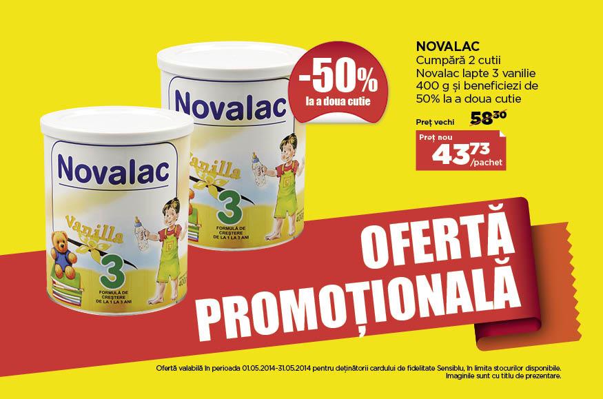 Promotie Sensiblu Novalac
