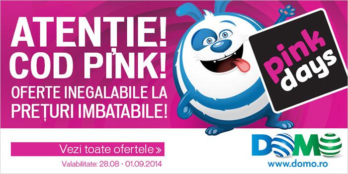 Domo Pink Days