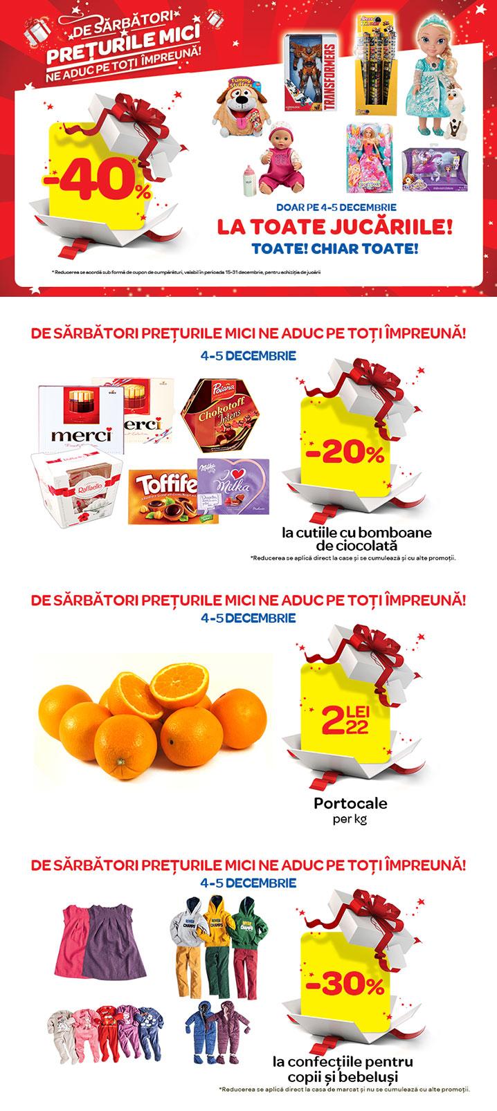 Promotii Carrefour de Sarbatori