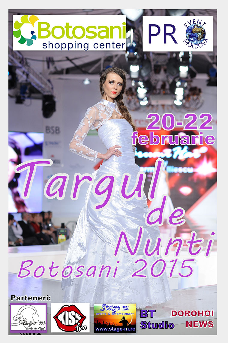 Targul de Nunti Botosani 2015!