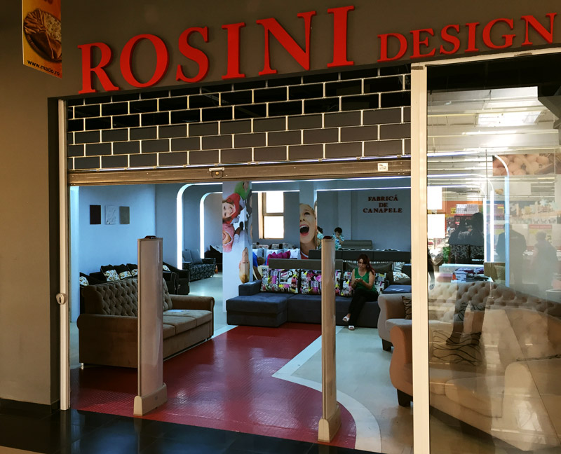 Nou! s-a deschis Rosini la Botosani Shopping Center