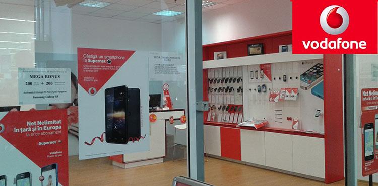 Nou! S-a deschis magazinul Vodafone la Botosani Shopping Center!