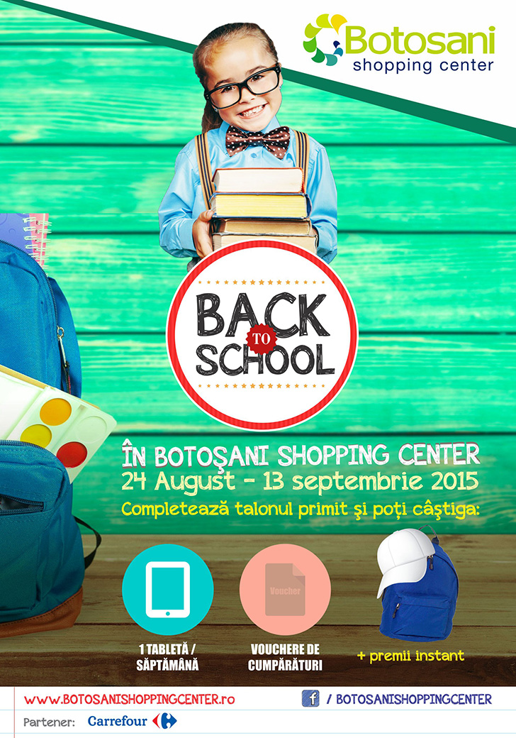 Tombola Back to School 2015