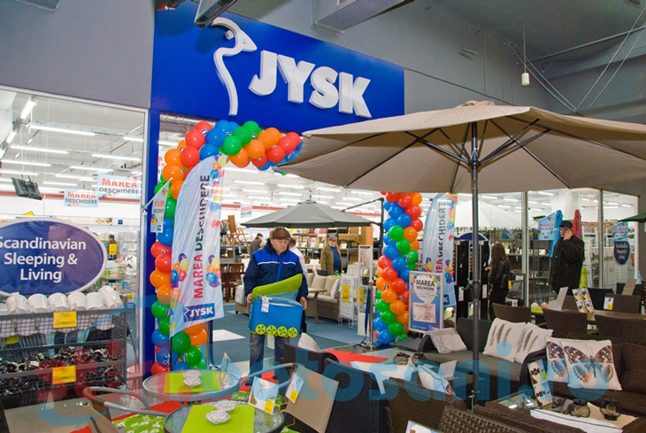 Nou! S-a deschis magazinul JYSK la Botosani Shopping Center