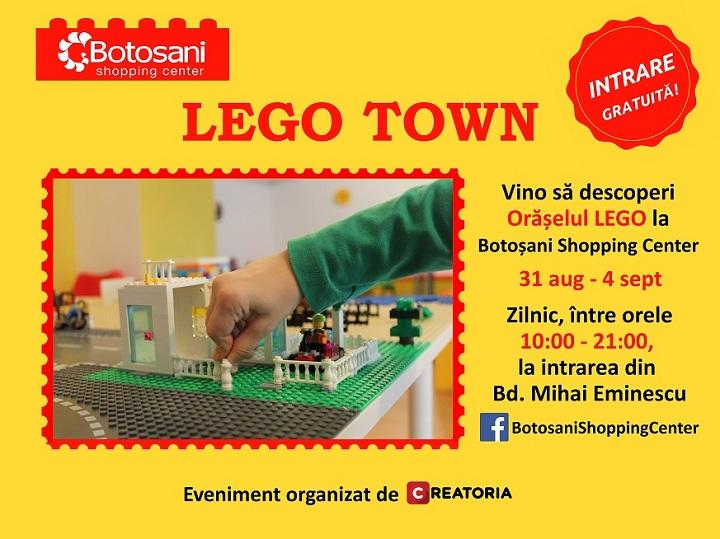 Primul Orasel LEGO creativ pentru copii