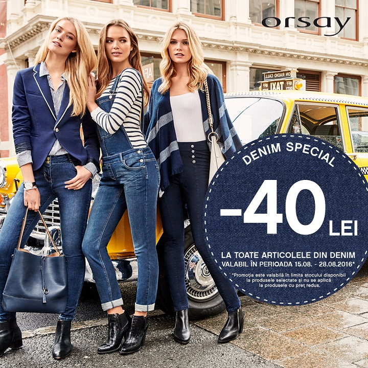 ORSAY – promotia Denim Special!