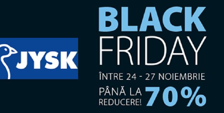 Black Friday la JYSK cu pana la 70% reducere!