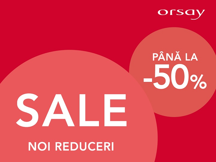 You are currently viewing ORSAY – noi reduceri pana la 50%