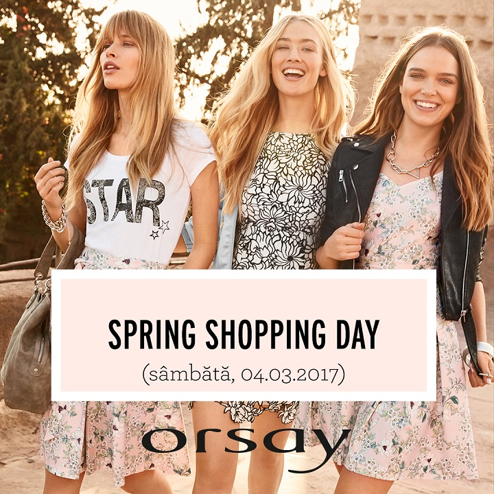 SPRING SHOPPING DAY LA ORSAY