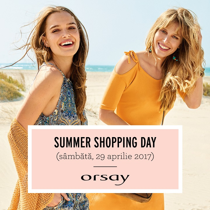 orsay summer shopping day 2017