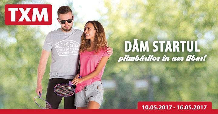 TXM : Dam startul plimbarilor in aer liber