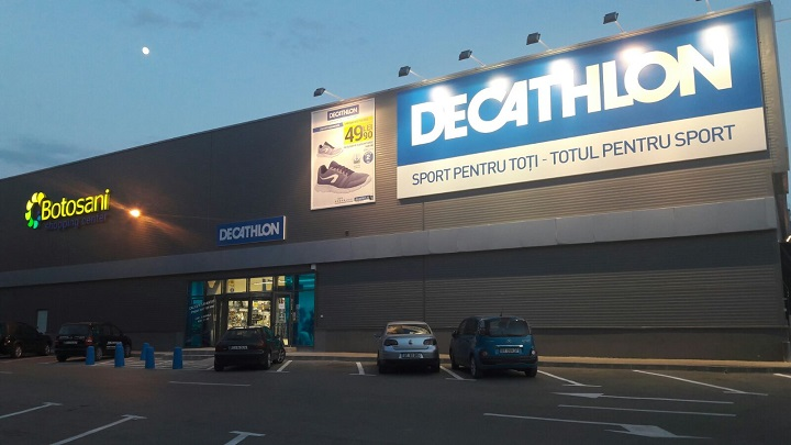 Nou! S-a deschis magazin Decathlon la Botosani Shopping Center!