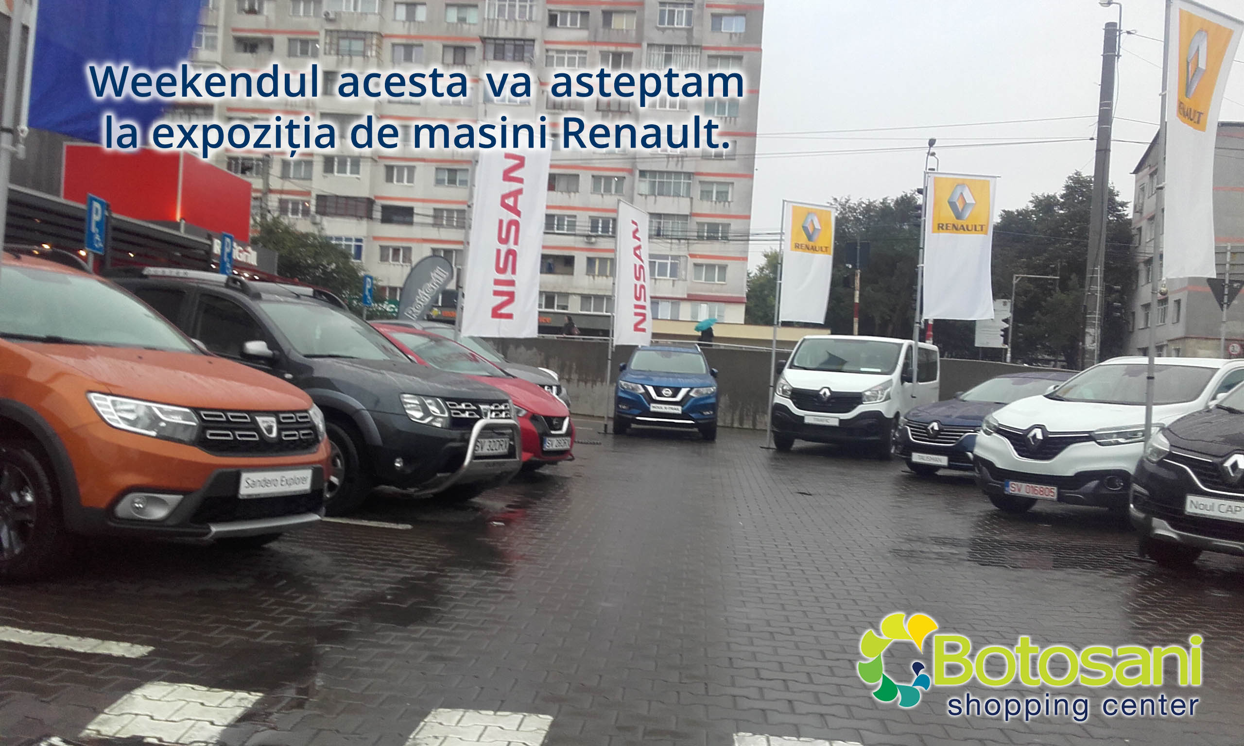 Expozitie de masini Renault