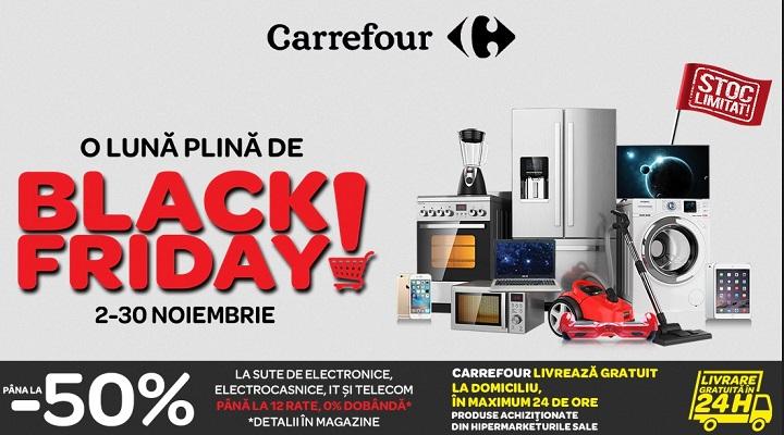 Prinde promotiile de BLACK FRIDAY la Carrefour!