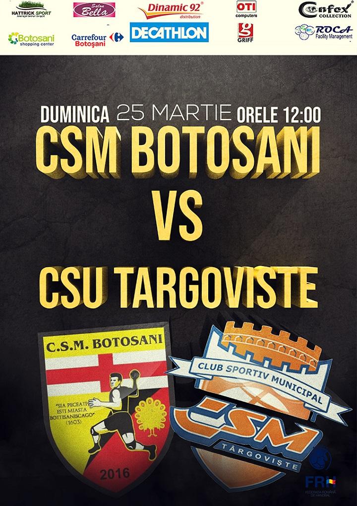 Incurajati alaturi de noi CSM Botosani!