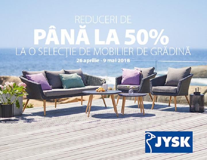 JYSK : Reduceri pana la 50% la mobilierul de gradina