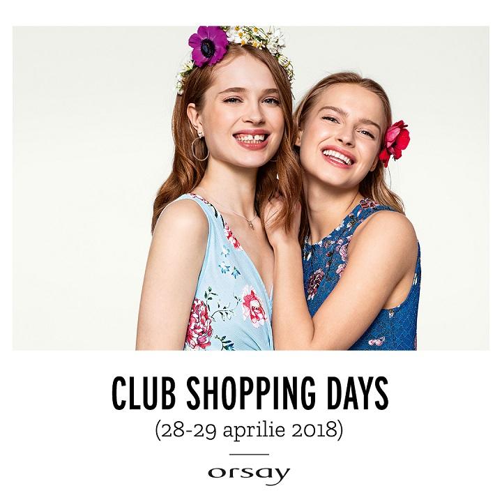 ORSAY : Club Shopping Days