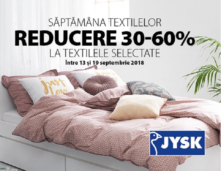 JYSK : Saptamana Textilelor