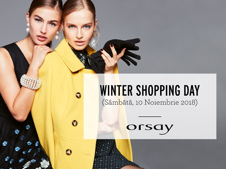 ORSAY : WINTER SHOPPING DAY