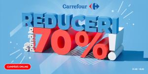 CARREFOUR : REDUCERI PANA LA 70%