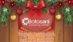 Program Sarbatori 2019-2020!