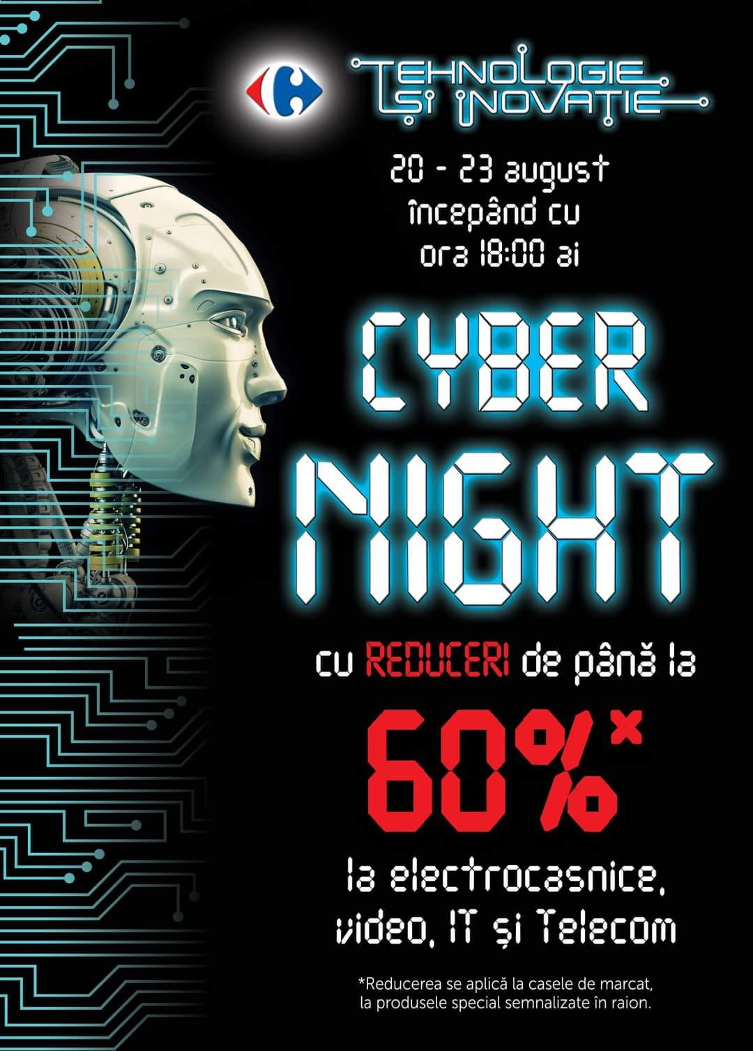 CARREFOUR: Cyber-Night!